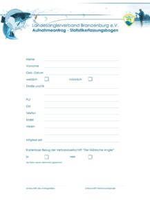 Aufnahmeantrag Anglerverein Lindena e.V Downloads-Anträge